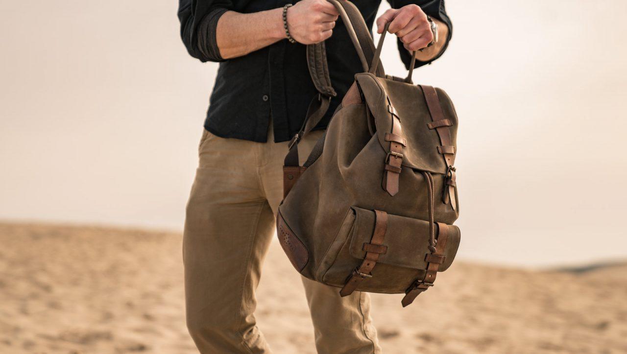 Meilleur sac à dos en cuir pour homme.