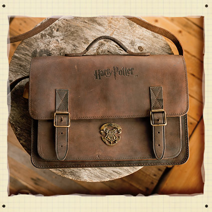 Cartable cuir de collection Harry Potter.