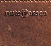 Cartable en cuir vintage.